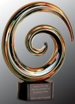 Swirl Art Glass Award Artistic Glass Awards