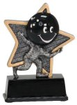 Little Pals Resin Trophy -Bowling  Bowling Trophy Awards