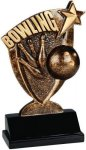 Broadcast Resin -Bowling Broadcast Resin Trophy Awards