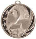 MidNite Star Medal -2nd Place Cheerleading Trophy Awards