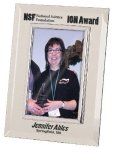Silver & Glass Picture Frame Award Clear Glass Awards