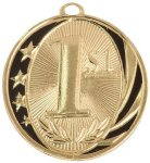 MidNite Star Medal -1st Place  Fishing Trophy Awards