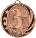 MidNite Star Medal -3rd Place  Fishing Trophy Awards