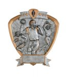 Signature Series Football Shield Award Football Trophy Awards