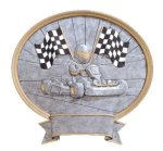Legend Go-Kart Oval Award Go-Kart Trophy Awards