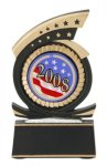 Gold Star Mylar Holder Gold Star Resin Trophy Awards