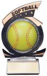 Gold Star Softball Award Gold Star Resin Trophy Awards