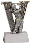 V Series Resin -Golf Male  Golf Trophy Awards