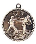 High Relief Medal -Martial Arts/Karate  High Relief Medallion Awards