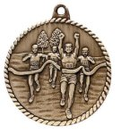 High Relief Medal -Cross Country  High Relief Medallion Awards