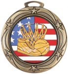 Star Medal- Insert Holder Insert Medallion Awards
