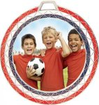 Red, White and Blue Bling Medal -Insert Holder  Insert Medallion Awards
