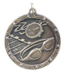 Shooting Star Medal -Swimming Music Trophy Awards