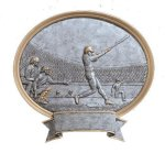 Legend Baseball Oval Award Oval Resin Trophy Awards