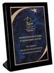 Piano Finish Black Stand Up Plaque  Piano Finish Plaques
