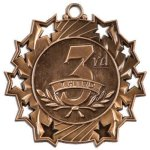 Ten Star Medal -3rd Place  Racing Trophy Awards