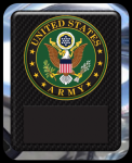 US Army Seal Military Hero Plaque Recognition Plaques
