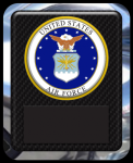 US Air Force Seal Military Hero Plaque Recognition Plaques