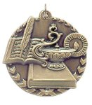 Millennium Medal -Lamp of Knowledge Scholastic Trophy Awards