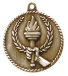 High Relief Medal -Torch Scholastic Trophy Awards