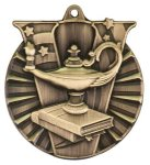 Victory Medal -Lamp of Knowledge  Scholastic Trophy Awards