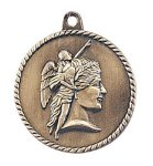 High Relief Medal -Achievement  Scholastic Trophy Awards