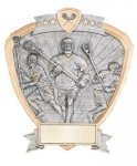 Signature Series Lacrosse Shield Award Signature Shield Resin Trophy Awards