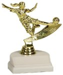 Action Trophy -Soccer Female Soccer Trophy Awards