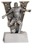 V Series Resin -Soccer Male  Soccer Trophy Awards