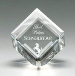 Corporate Crystal Cube Square Rectangle Awards