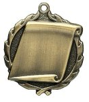 Engraving Scroll Medals Wreath Medal Awards
