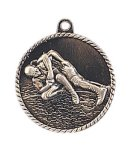 High Relief Medal -Wrestling  Wrestling Trophy Awards
